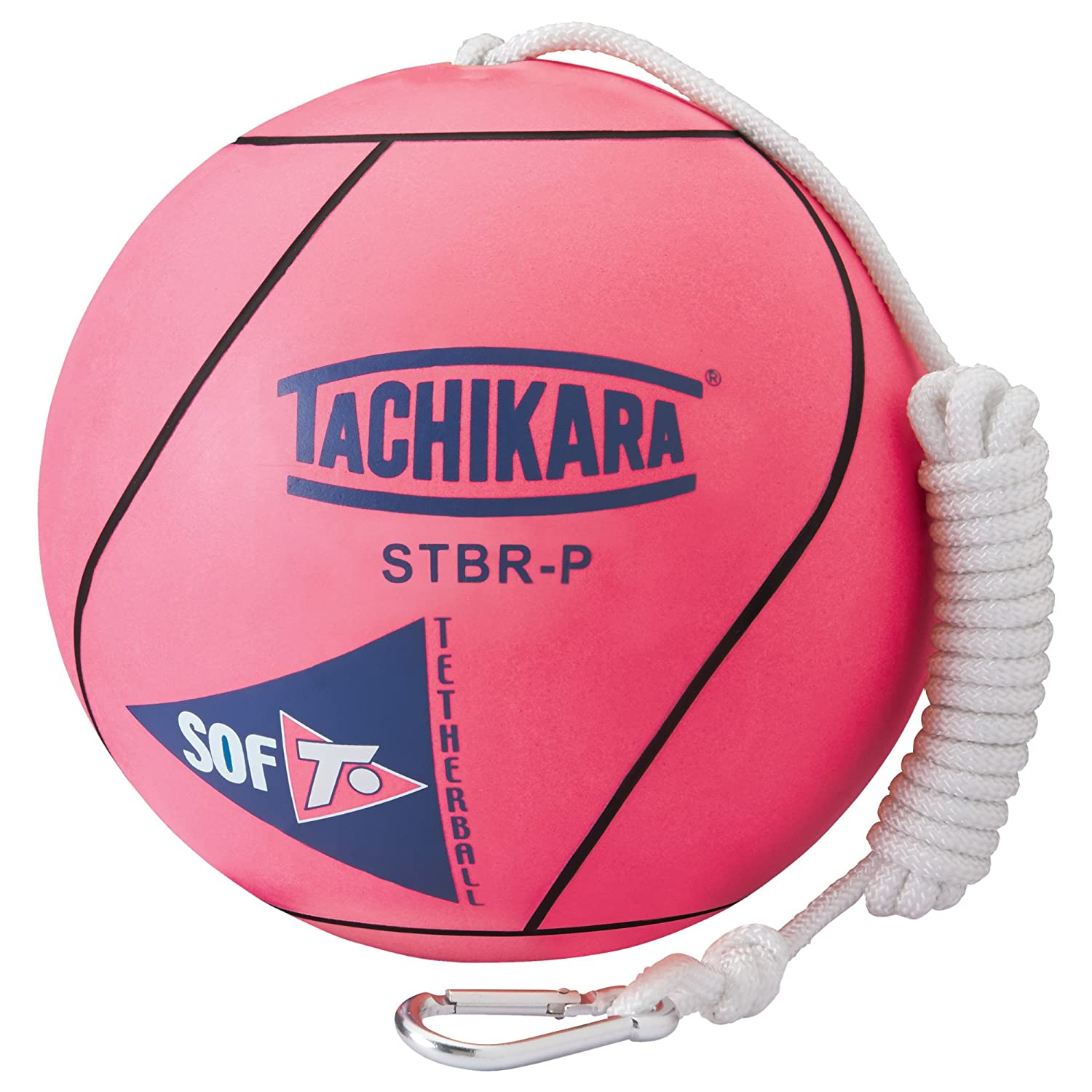 Tachikara STBR-P extra soft tetherball (pink).