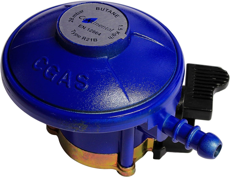 Calor Brand Bottles TPA 21mm Push On Gas Regulator