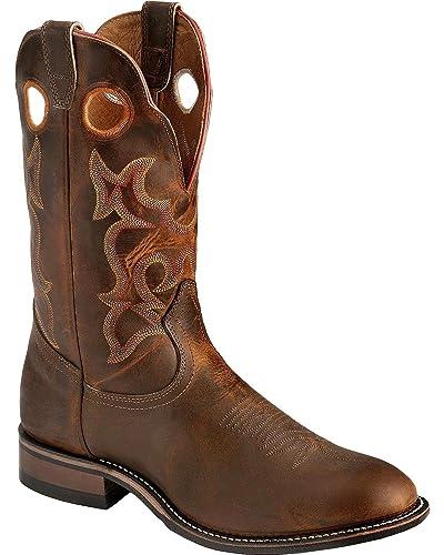 605348c65e3 Boulet Mens 0292 Cowboy Boots: Amazon.co.uk: Shoes & Bags