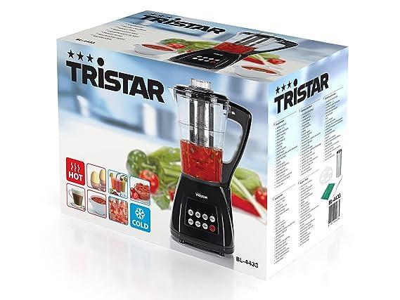 Tristar BL-4433 - Batidora para sopa Función frío/caliente - 7 funciones: Amazon.es: Hogar