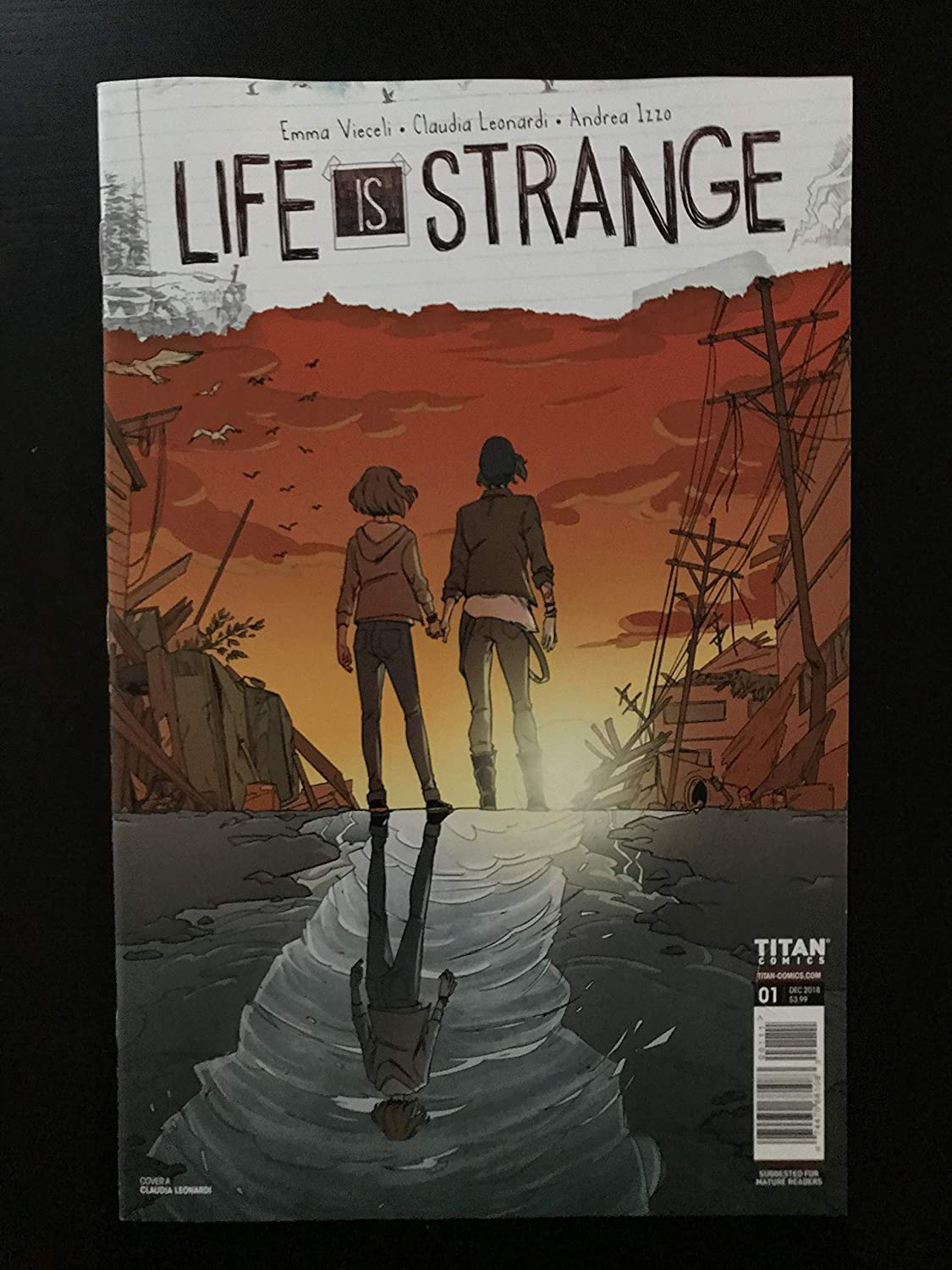 Life Is Strange #1 first printing 2018 Comic Book NM Condition