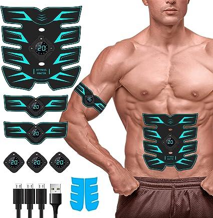Body Muscle Electric Stimulator Abdominal Fitness Training Massager 2