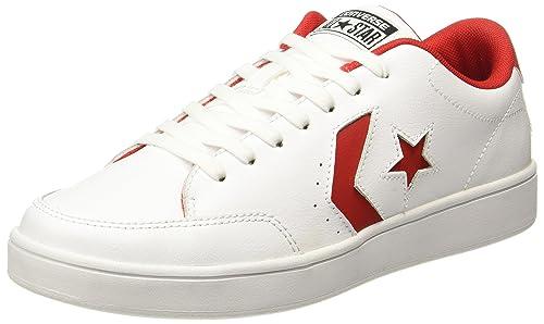 Abuelos visitantes mal humor abrazo  Buy Converse Men's White Sneakers - 6 UK/India (39 EU)(159805C) at Amazon.in