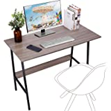 """Viewee Computer Student Desk, Easy Assembly, Laptop Study Table 39"""" Home Office Writing Desk with Table Edge Protectors, Stur"""