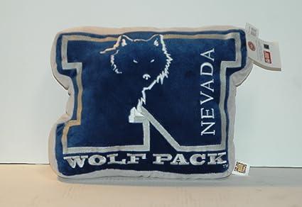 NEVADA WOLFPACK STUFFED PLUSH THROW PILLOW