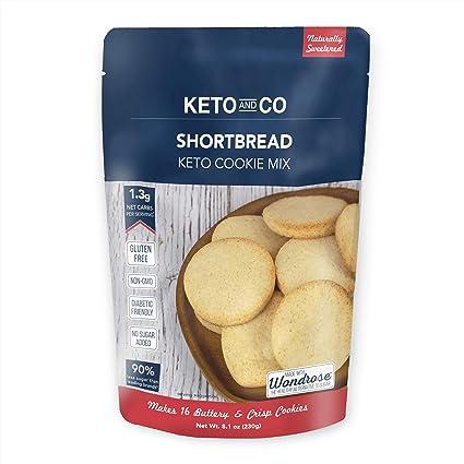 Mezcla de galletas Keto de Keto y Co | sólo 0.05 oz de ...