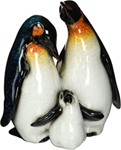 StealStreet SS-UG-YXC-934, 6.25 Inch Playful Baby Penguin with Mother and Father Figurine