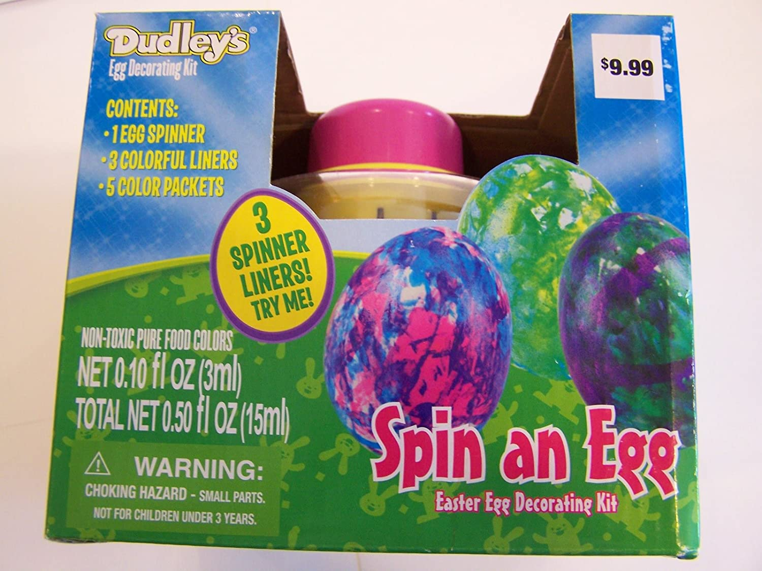 Easter Egg Coloring Decorating Kits Page Two