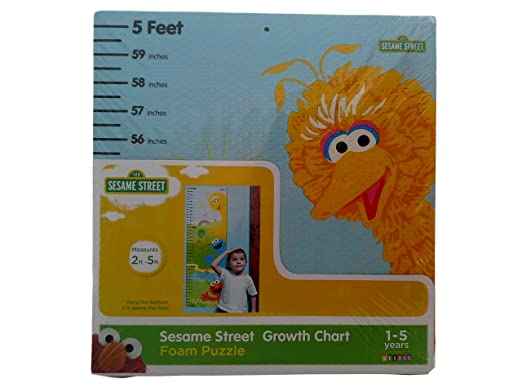Sesame Street Growth Chart Amazon Toys Games