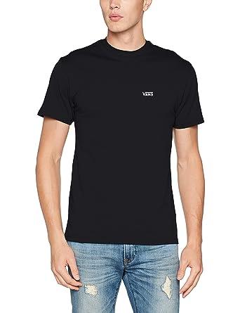6c59b112 Vans Men's Left Chest Logo Tee T-Shirt: Amazon.co.uk: Clothing