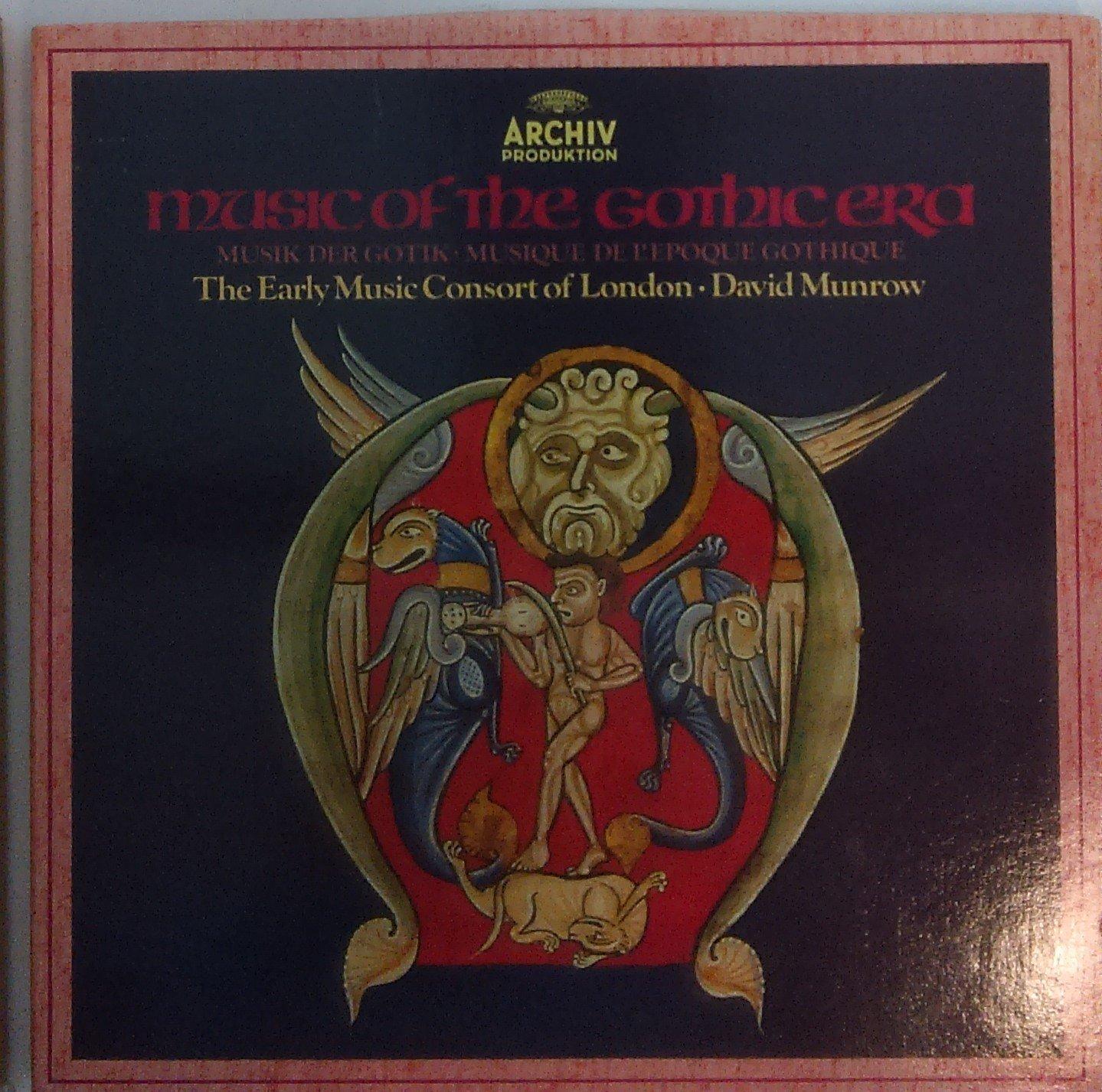 music of the gothic era david munrow