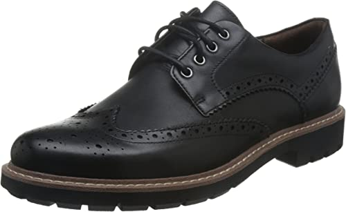 BATCOMBE WING MENS CLARKS LEATHER FORMAL WORK CASUAL BROGUE LACE UP SHOES SIZE