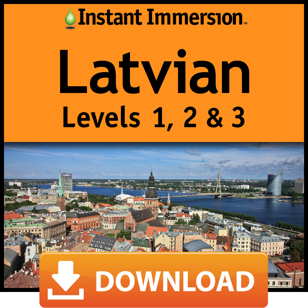 Instant Immersion Latvian Levels 1,2 & 3 [Online Code] by Eurotalk, Ltd.