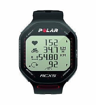 Polar RCX5 Bike (Incluye Candence Sensor) Pulsómetro, Unisex, Negro, 47 UK: Amazon.es: Deportes y aire libre