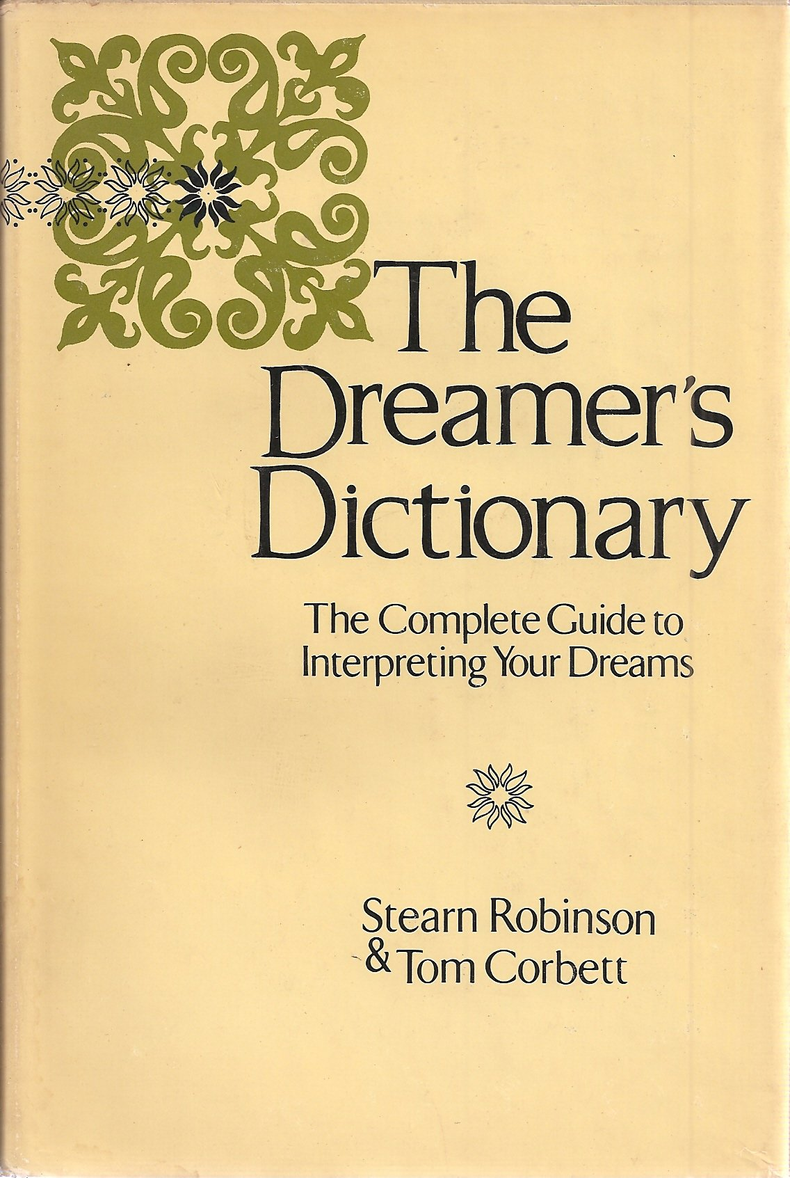 The dreamers dictionary stearn robinson amazon books buycottarizona Images