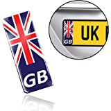 Kent County Flag Number Plate Decals