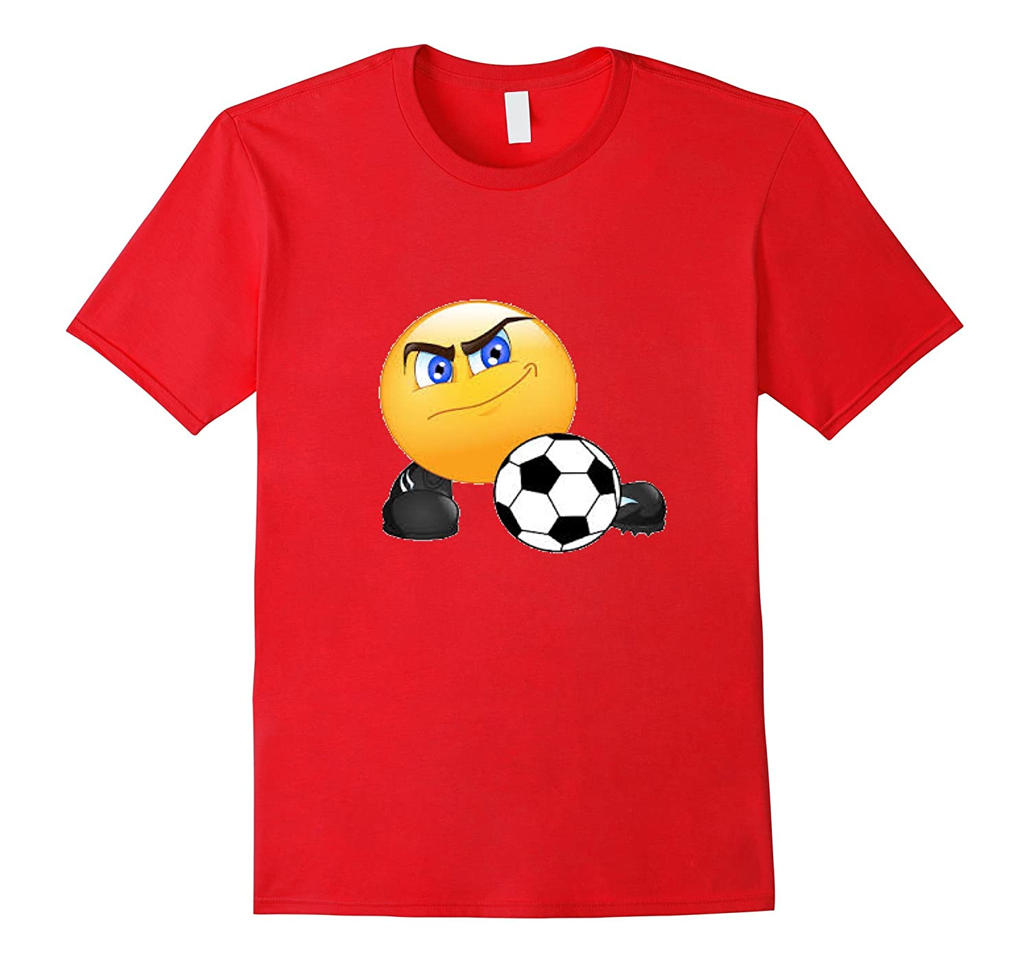 17th Birthday Gift Idea 17 Year Old Boy Girl Shirt 1999 M Art Soccer Playing Smile Emoji T