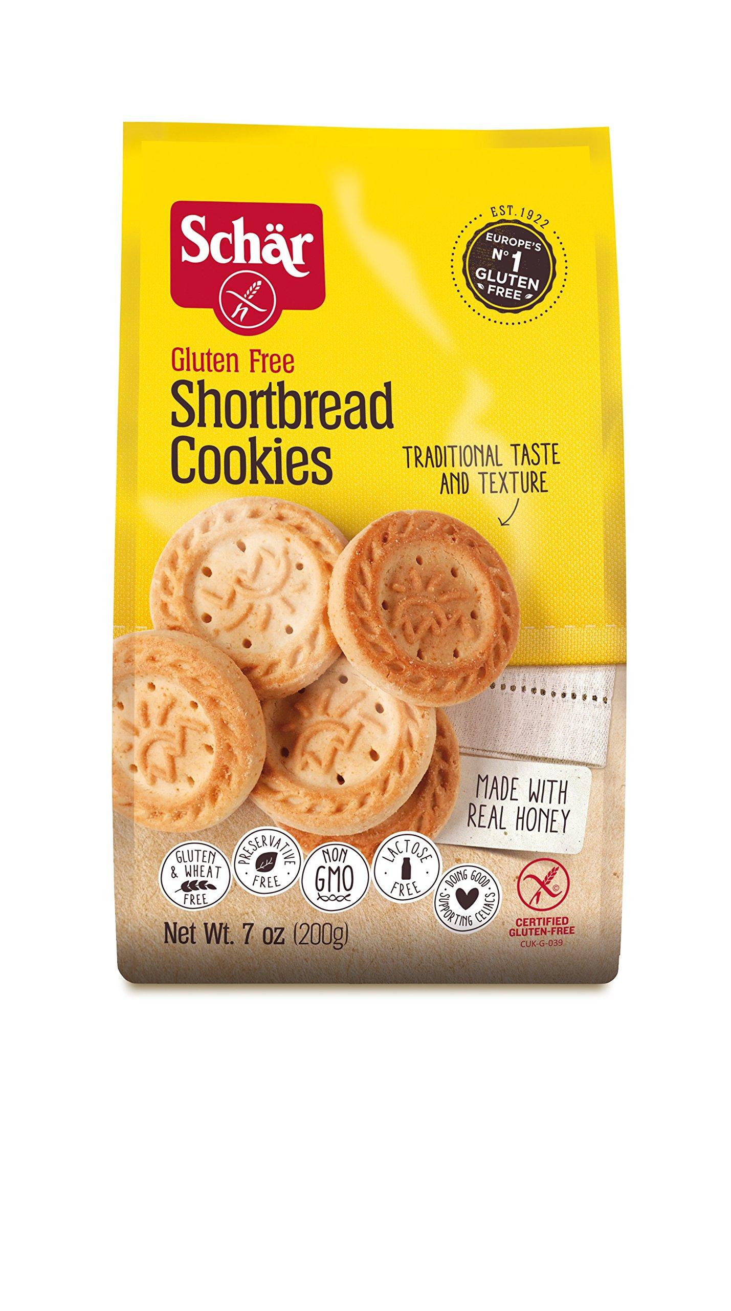 Schar Shortbread Cookies, 7 Ounce - 12 per case. by Schar