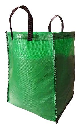 outdoorplantpots jardín - bolsas de basura de 120 litros con ...