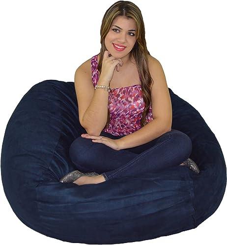 Best bean bag chair: Cozy Sack Bean Bag Chair: Large 4 Foot Foam Filled Bean Bag Large Bean Bag Chair