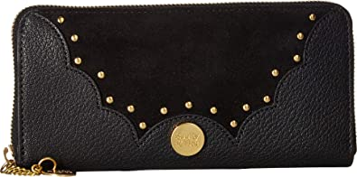 8c6e5ab1 Amazon.com: See by Chloe Women's Nick Continental Wallet Black One ...