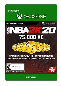 NBA 2K20: 75,000 VC 75,000 VC - [Xbox One Digital Code]