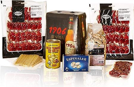 ✅ Nuevo Pack Gourmet elaborado en España,✅ CONTENIDO: 2 SOBRES PALETA IBÉRICA 100g. - SOBRES FUET DE