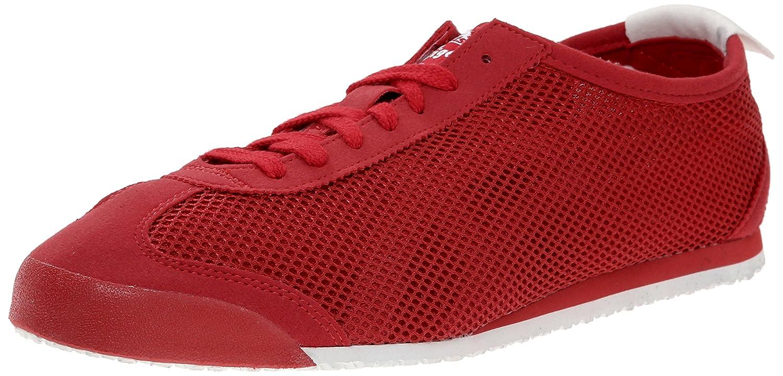 Onitsuka Tiger Mexico 66 Fashion Sneaker B00PUMYJCS 9 M US Women / 7.5 M US Men|Red Mesh/Red/White