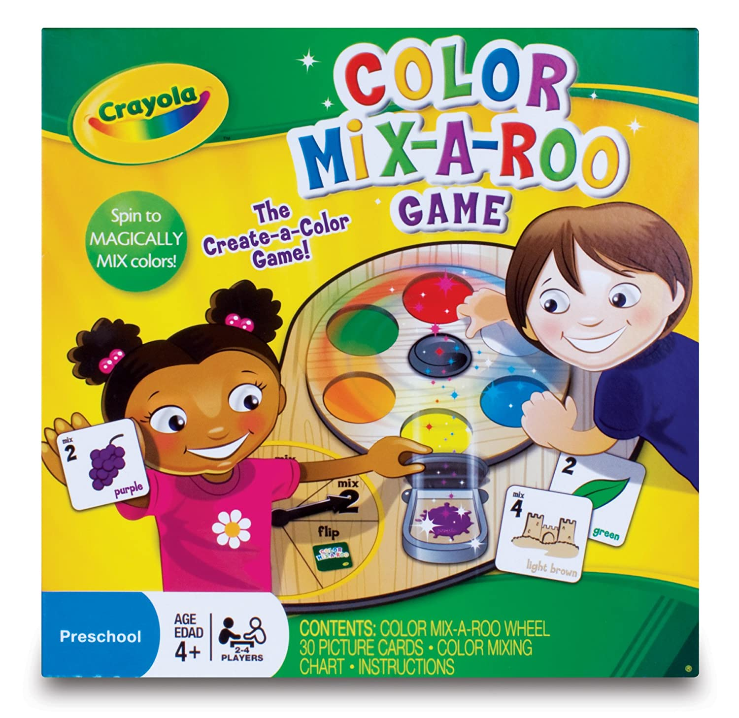 amazon com crayola color mix a roo toys u0026 games