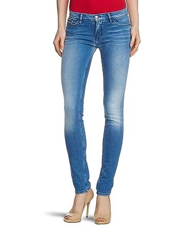 7feaa74db5114f Tommy Hilfiger Damen Jeans Normaler Bund LIMA F SKINNY Sienna  Blue/1M87625895, Gr.