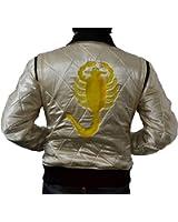 MSHC Drive Ryan Ghosling Satin Scorpion Jacket Sizes XXS-5XL Golden