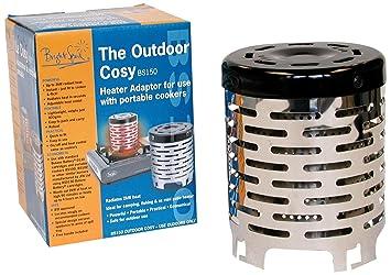 Camp 4 Bright Spark - Adaptador estufa para usar al aire libre y dar un ambiente