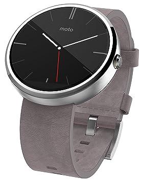 Motorola Moto 360 SmartWatch Inoxidable y Frecuencia Cardíaca / Actividad Tracker con conectividad Bluetooth, Compatible con Android 4.3 + ...