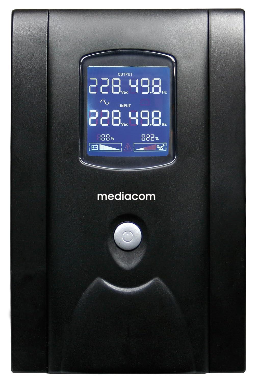 MEDIACOM +ENERGIA Security Solution - UPS - 220 V c.a. V - 480 Watt - 850 VA - USB - connettori di uscita 2 8028153086117 MAG_DAT_M-UPS850D
