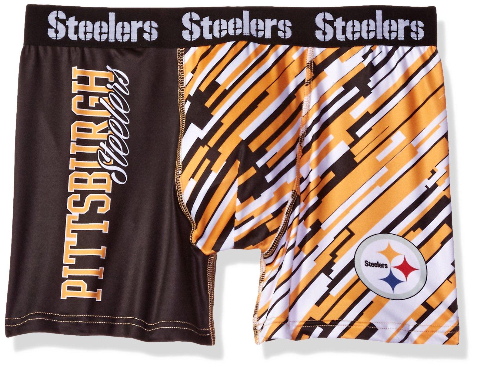 Pittsburgh Steelers Wordmark Underwear Medium