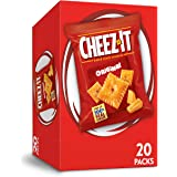 Cheez-It Baked Snack Cheese Crackers, Original, Single Serve, 1 oz Bags, 20 Count