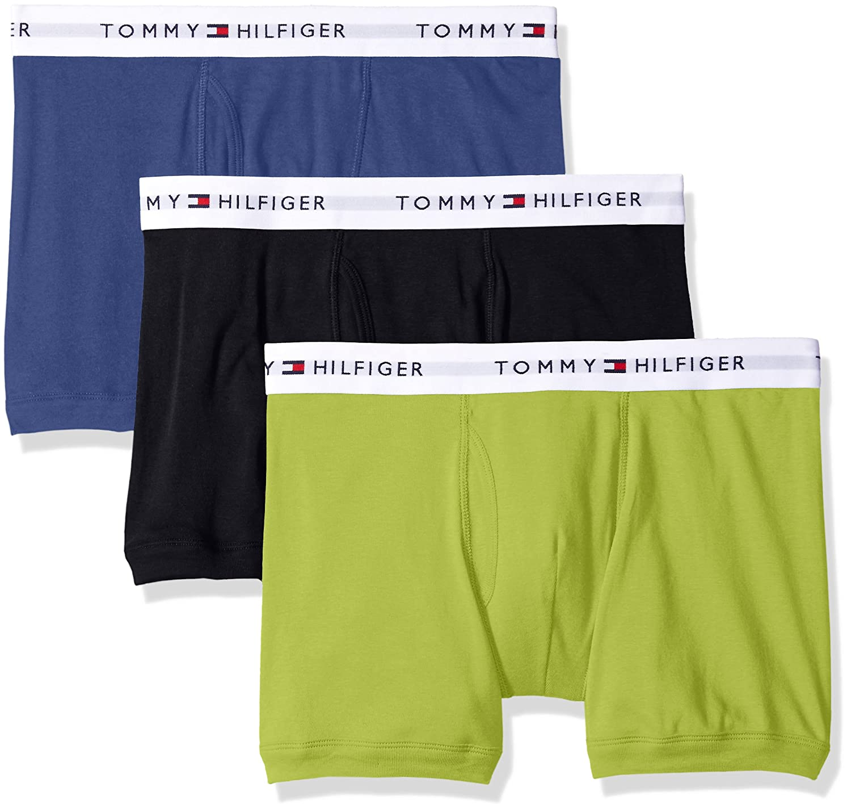 Tommy Hilfiger Men's Underwear 3 Pack Cotton Classics Trunks 09TQ002