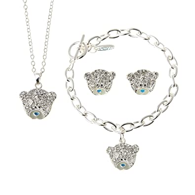 Lower Price with Me To You Tatty Teddy Earrings Jewellery & Watches