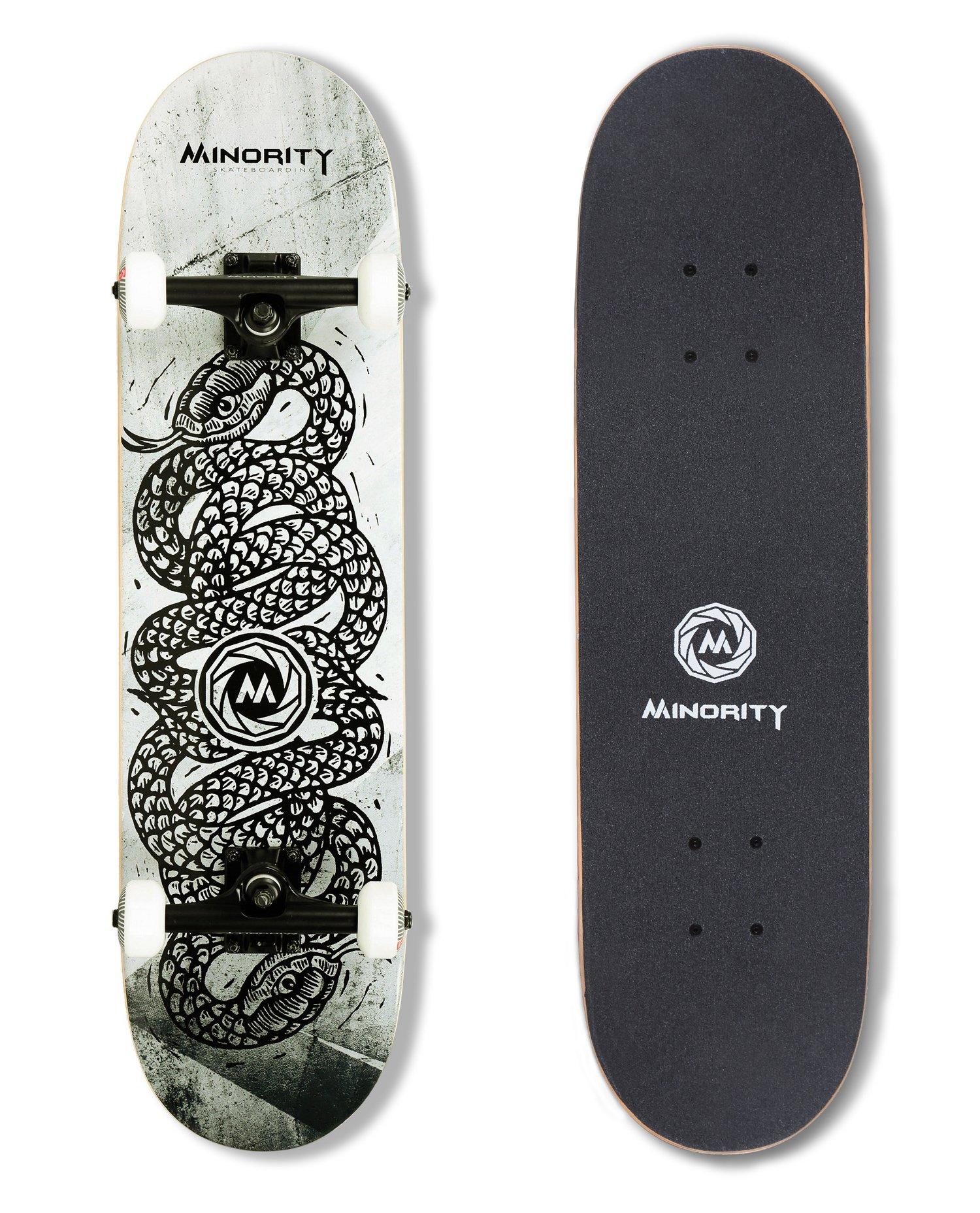 MINORITY 32inch Maple Skateboard (Snake) by MINORITY
