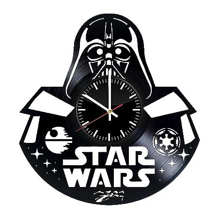 Star Wars Darth Vader discos de vinilo reloj de pared ...