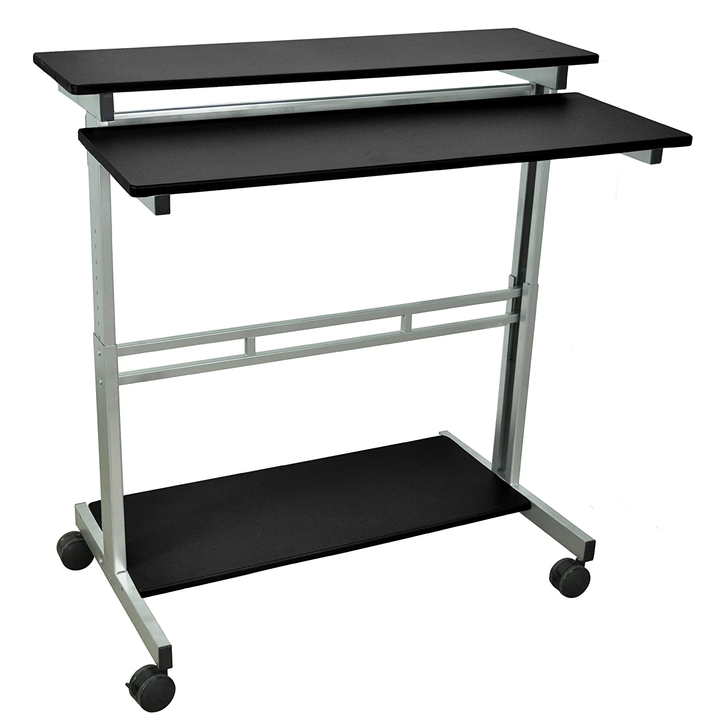 Amazon LUXOR Standup B Stand Up Desk Black Industrial