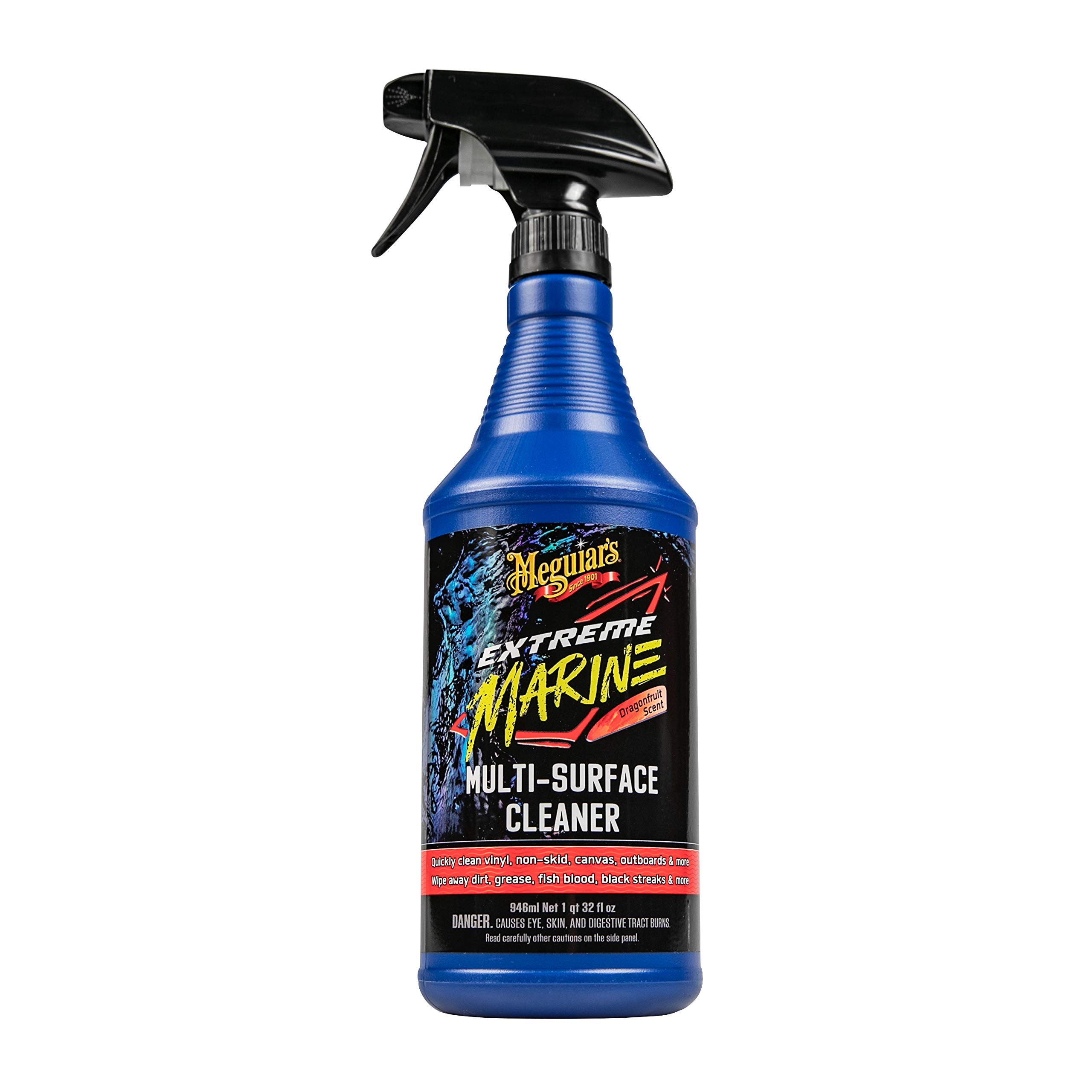 Meguiar's M180332 Extreme Marine Multi-Surface Cleaner, 32 Fluid Ounces