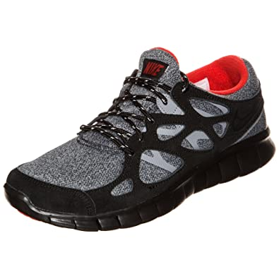 best cheap 146e3 85c43 Nike Herren Free Run 2 Laufschuhe, schwarzrot (BlackUniversity Red-