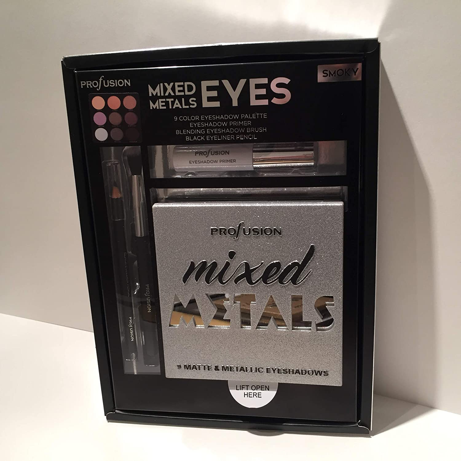 PROFUSION Mixed Metals & Eyes Palette - Smoky