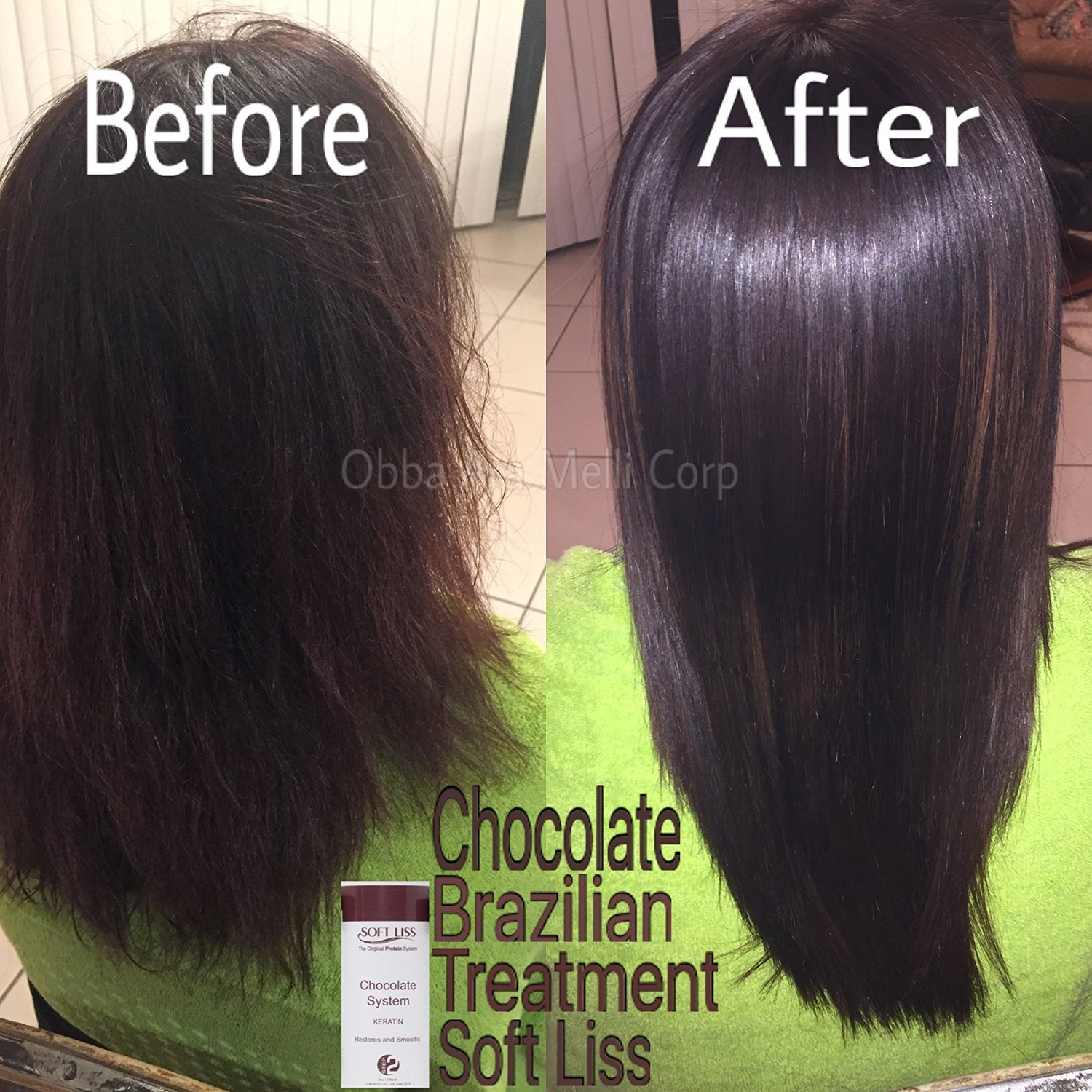Keratin Brazilian Treatment kit 16oz Soft Liss Chocolate (Keratina de Chocolate) Hair Treatment Formaldehyde Free Soft Liss: Amazon.es: Industria, ...