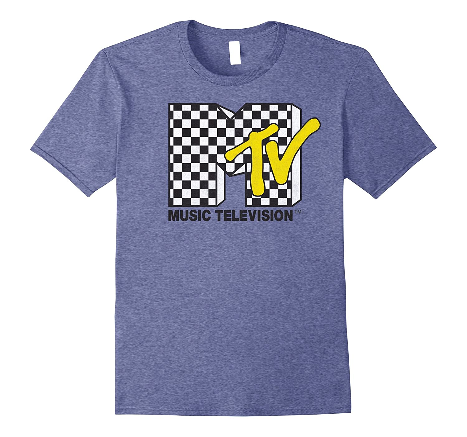 MTV Classic Vans Checker Logo Rock T-Shirt-ah my shirt one gift