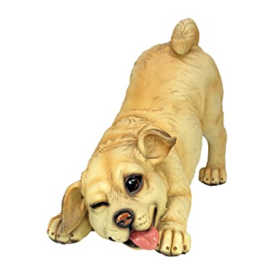 Design Toscano Lover Boy Puppy Dog Statue : Garden & Outdoor