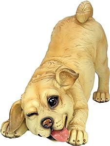 Design Toscano QM14003 Lover Boy Puppy Dog Statue,full color