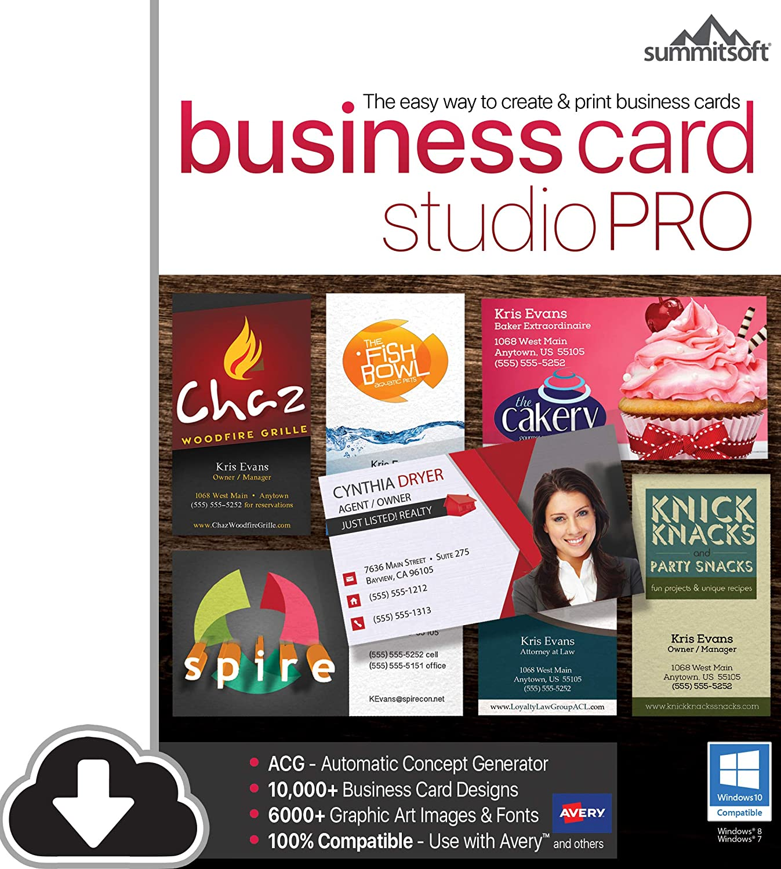 B07STXTF88 Business Card Studio Pro [PC Download] 81dm8hryXeL