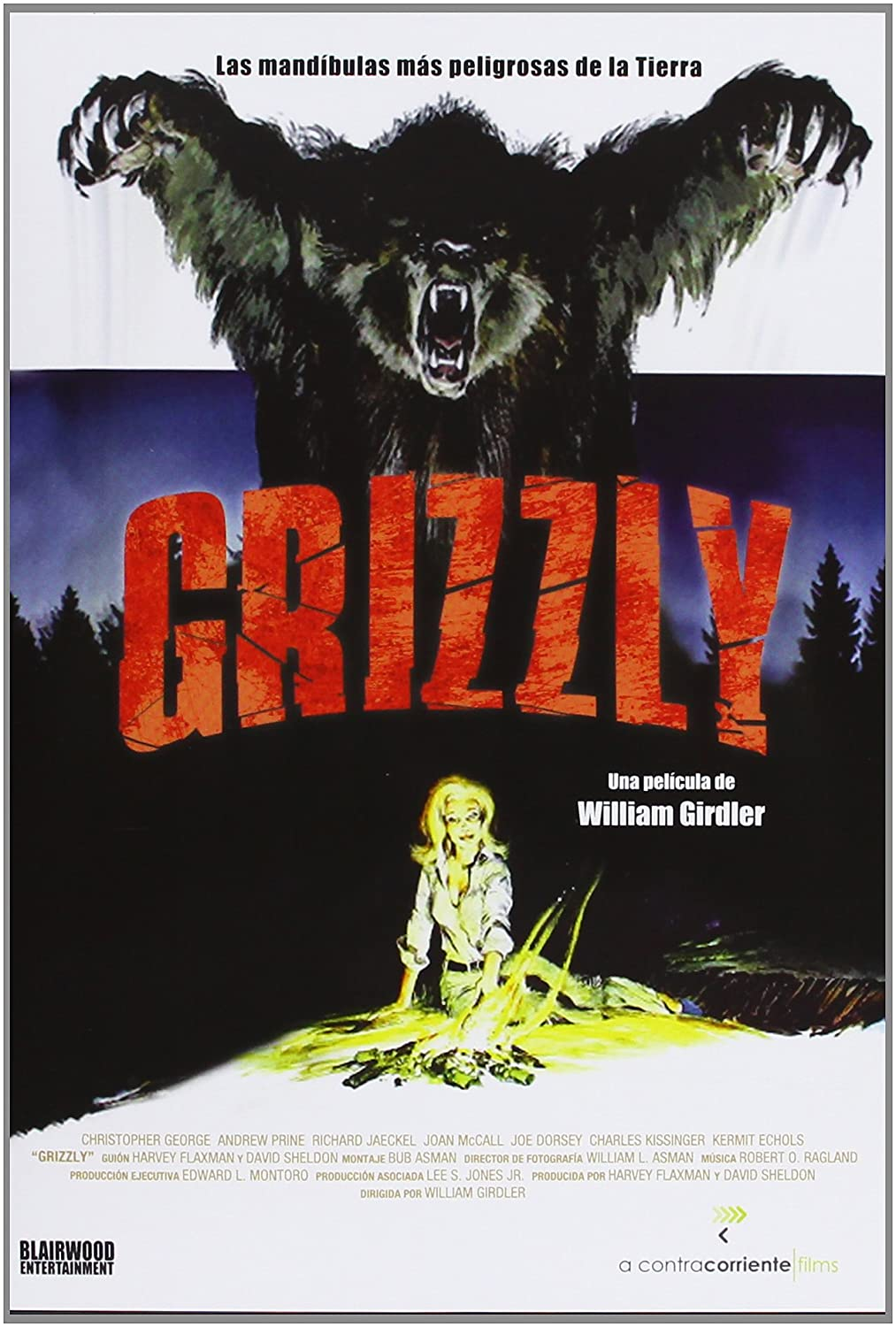 Grizzly 1976 Spanien Import Amazonde Christopher